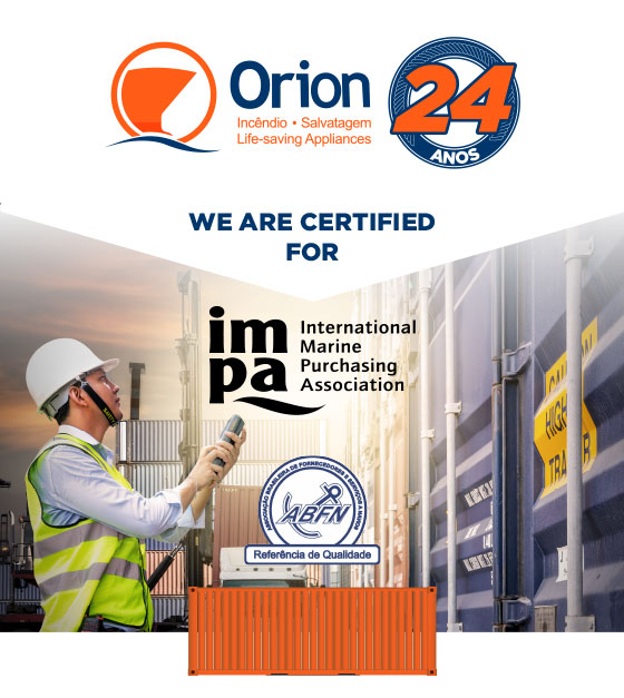 We are certified for IMPA and ABFN
