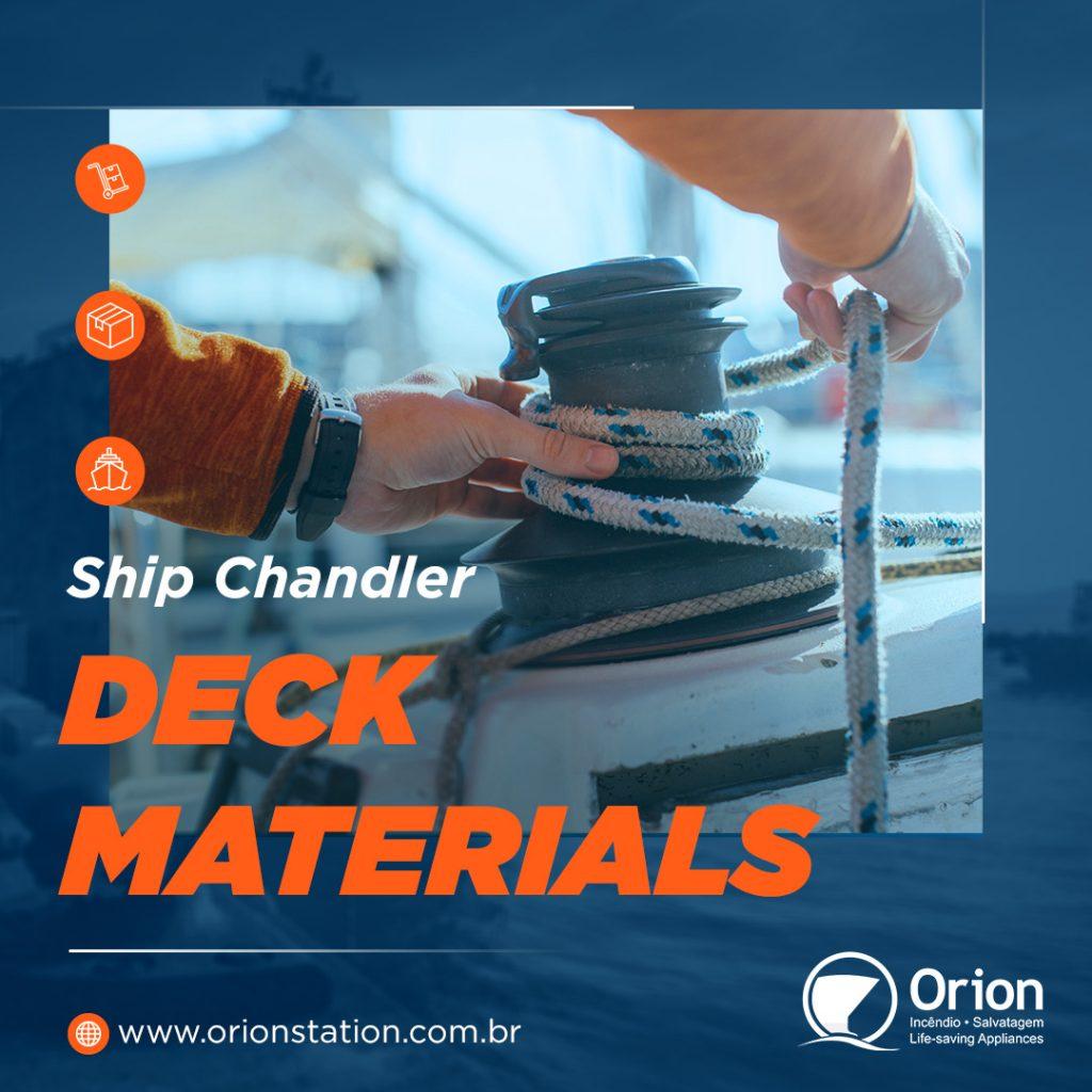 Ship Chandler Deck Materials